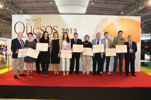 Premio Mejor Queso Fresco de España concedido por el MARGRAMA al queso D.O.P. Cebreiro Castelo