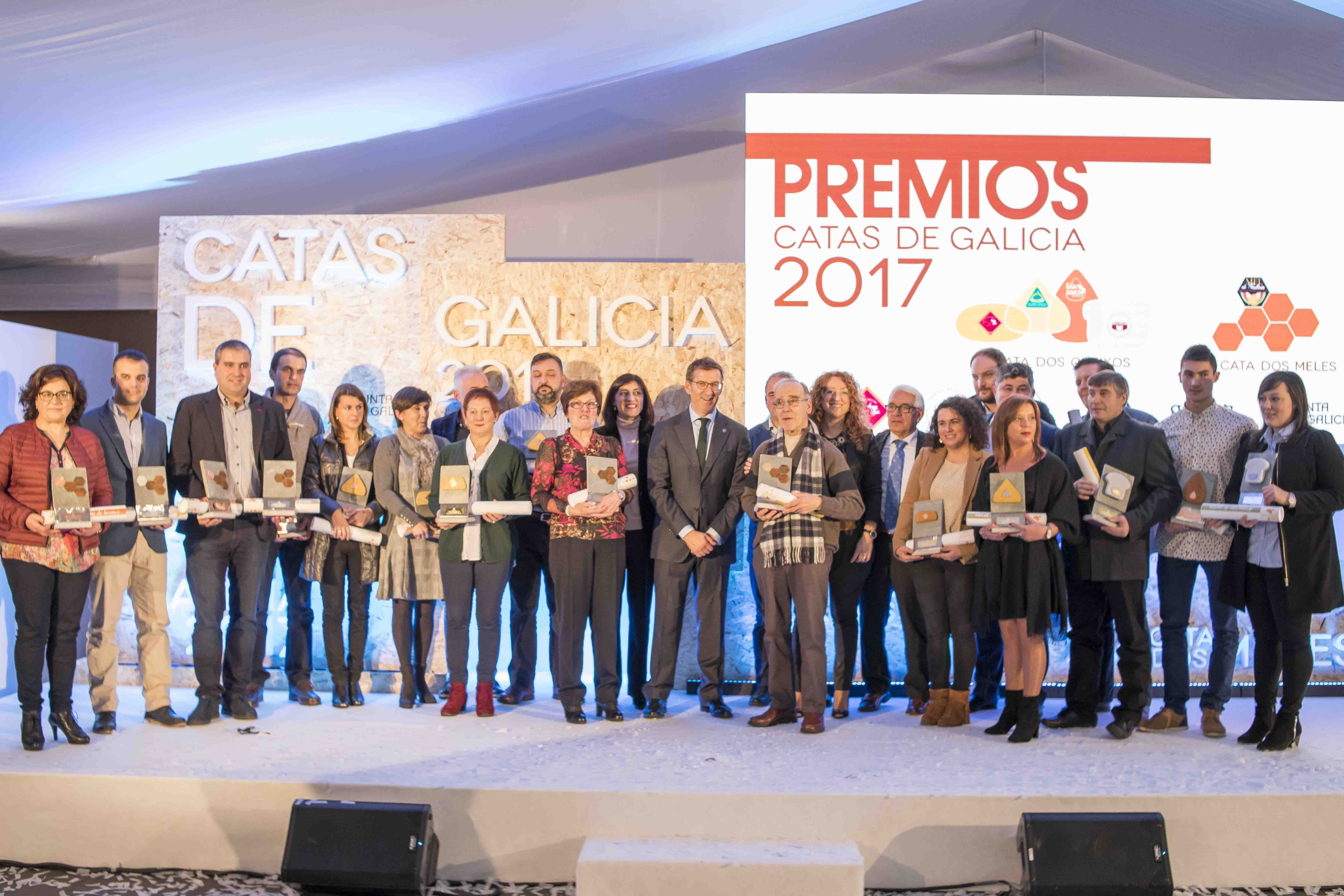 Queso DOP Cebreiro Castelo premiado en las Catas de Quesos y Mieles de Galicia 2017