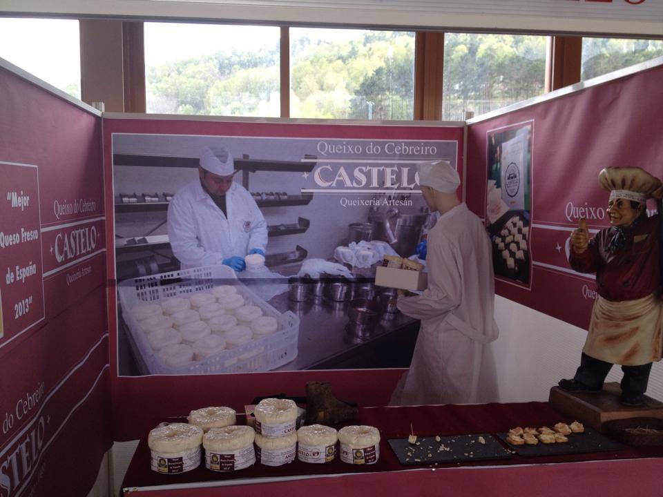 Stand Feria del queso D.O.P. Cebreiro