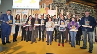 Premiados con las medallas de quesos y mieles de Galicia en 2016.